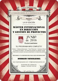 En junio, f�rmate en Direcci�n de Proyectos con el M�ster m�s completo