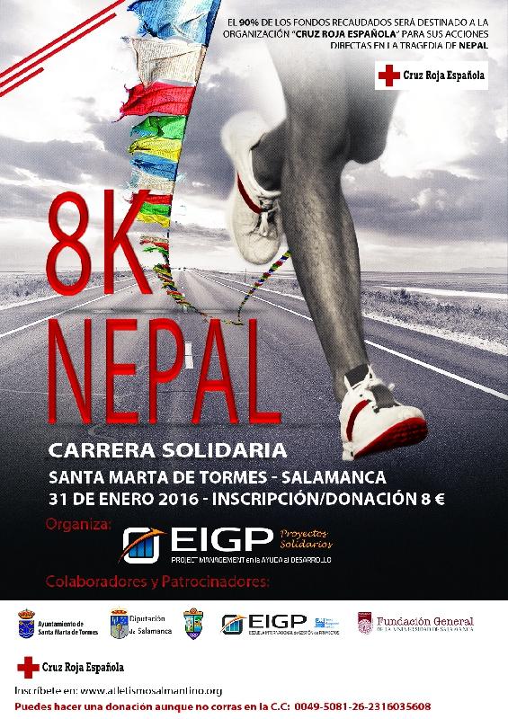 PR.2015.- 8K NEPAL - Carrera Solidaria de Apoyo al Nepal