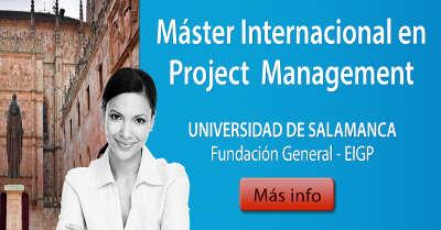 Master Internacional en Project Management - EIGP - Escuela Internacional de Gestión de Proyectos
