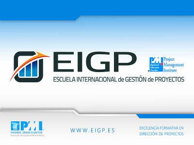 Curso Certificación PMP - EIGP - Escuela Internacional de Gestión de Proyectos