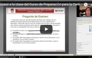 certificación project management professional