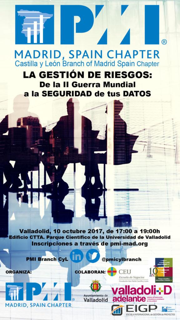 PMI Castilla y León, próximo evento