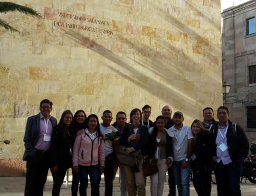 Nuestro grupo de alumnos colombianos vuelve a su país tras recibir la parte presencial de la formación en project management