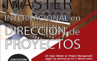 El mejor Máster en dirección de proyectos por tres años consecutivos, según los alumnos.