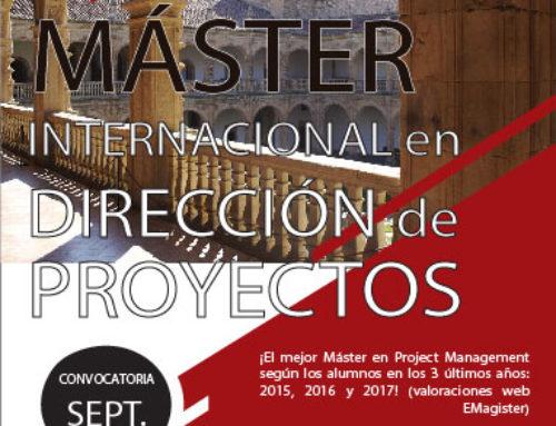 ¡10% descuento en el Máster en dirección de proyectos, por matricula anticipada hasta el 15 de agosto!