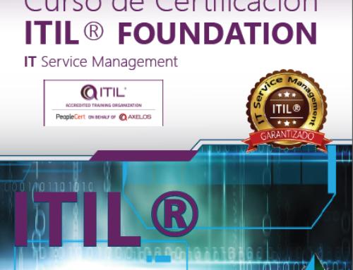 ¡El 100% de nuestros alumnos han aprobado el examen de Certificación ITIL®!