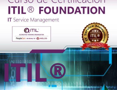 ITIL cambia en 2019, ¡Certifícate ITIL Foundation antes de que cambie el examen!