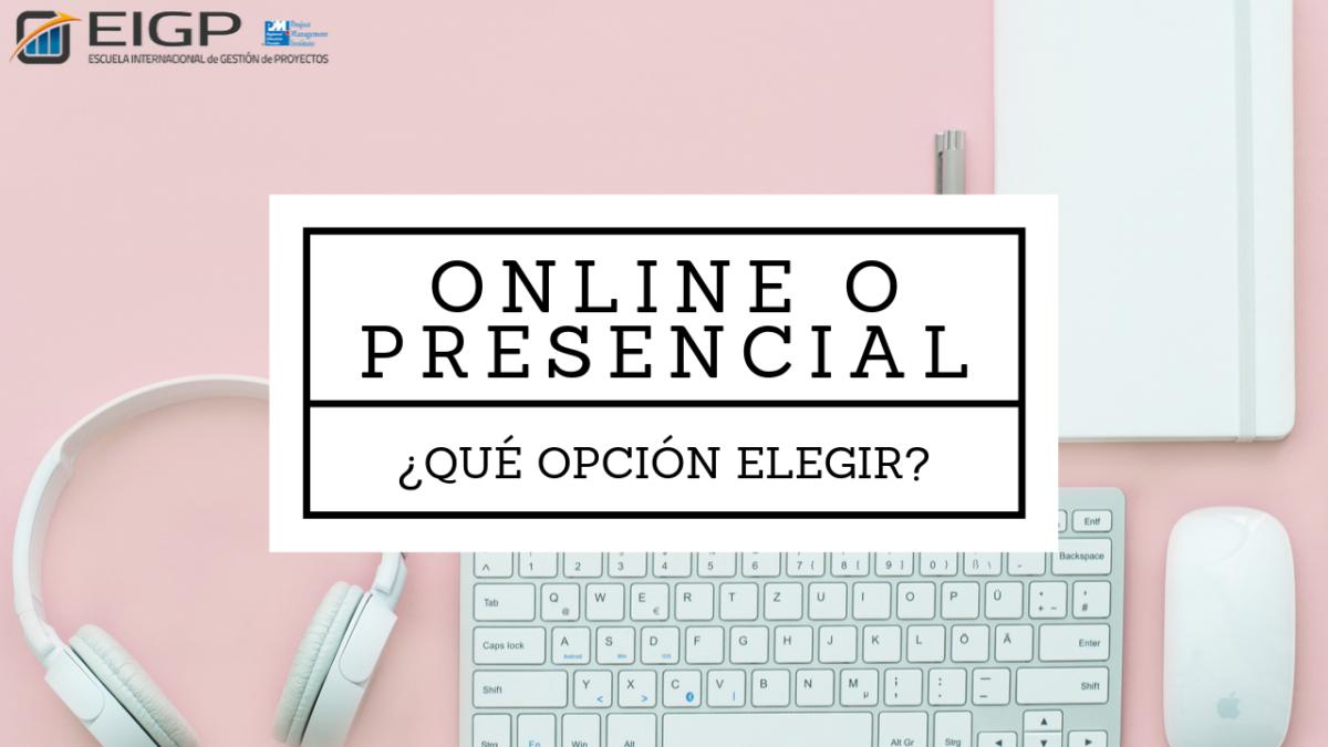 online vs presencial