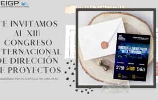 XIII Congreso Internacional de direccion de proyectos