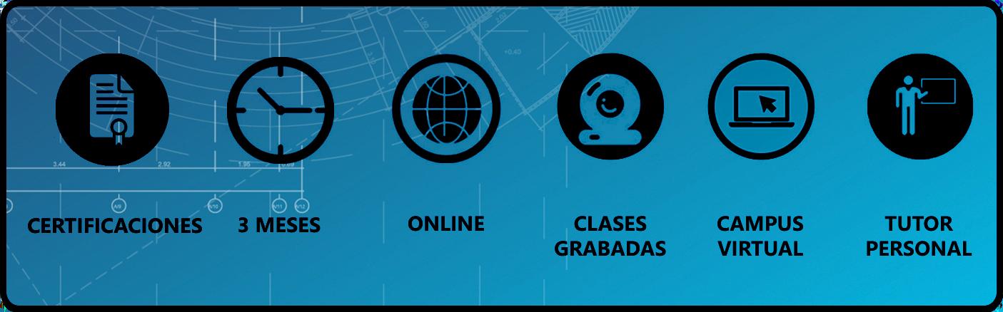 caracteristicas curso bim revit online
