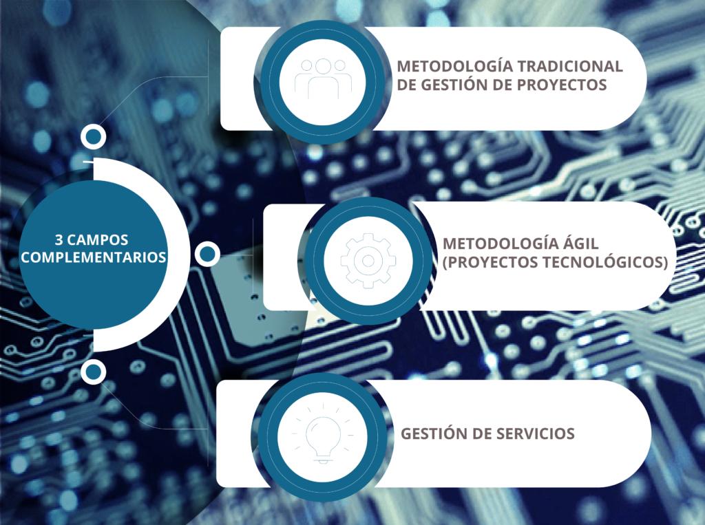 Máster en Gestión de Proyectos Tecnológicos y Gestión de Servicios