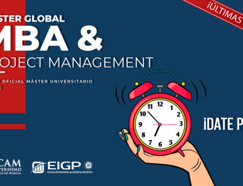 ¡ÚLTIMAS PLAZAS PARA EL MÁSTER Global MBA & Project Management!
