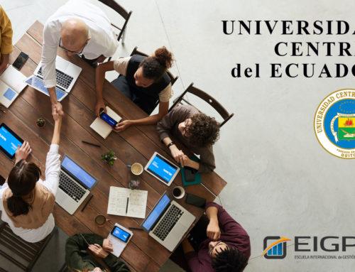 UNIVERSIDAD CENTRAL DEL ECUADOR, NUEVO PARTNER EN EIGP