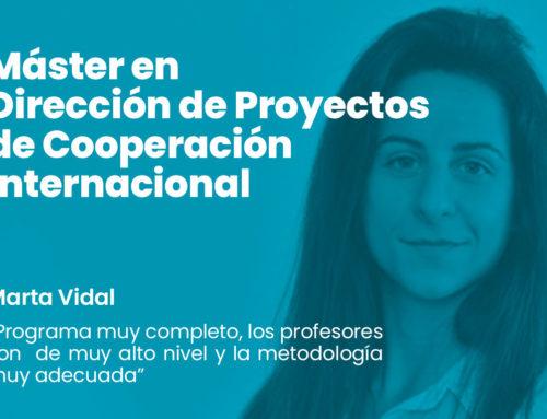 Experiencia de nuestra alumna Marta Vidal