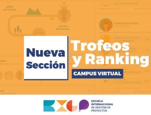 NUEVA SECCIÓN «Trofeos y Ranking»